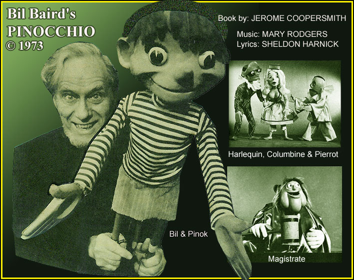 Bil Baird's Pinocchio - Marionettes and Puppets - Baroto