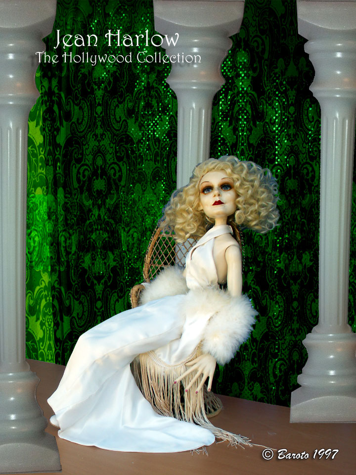 Jean Harlow Caricature Doll - Baroto 1997