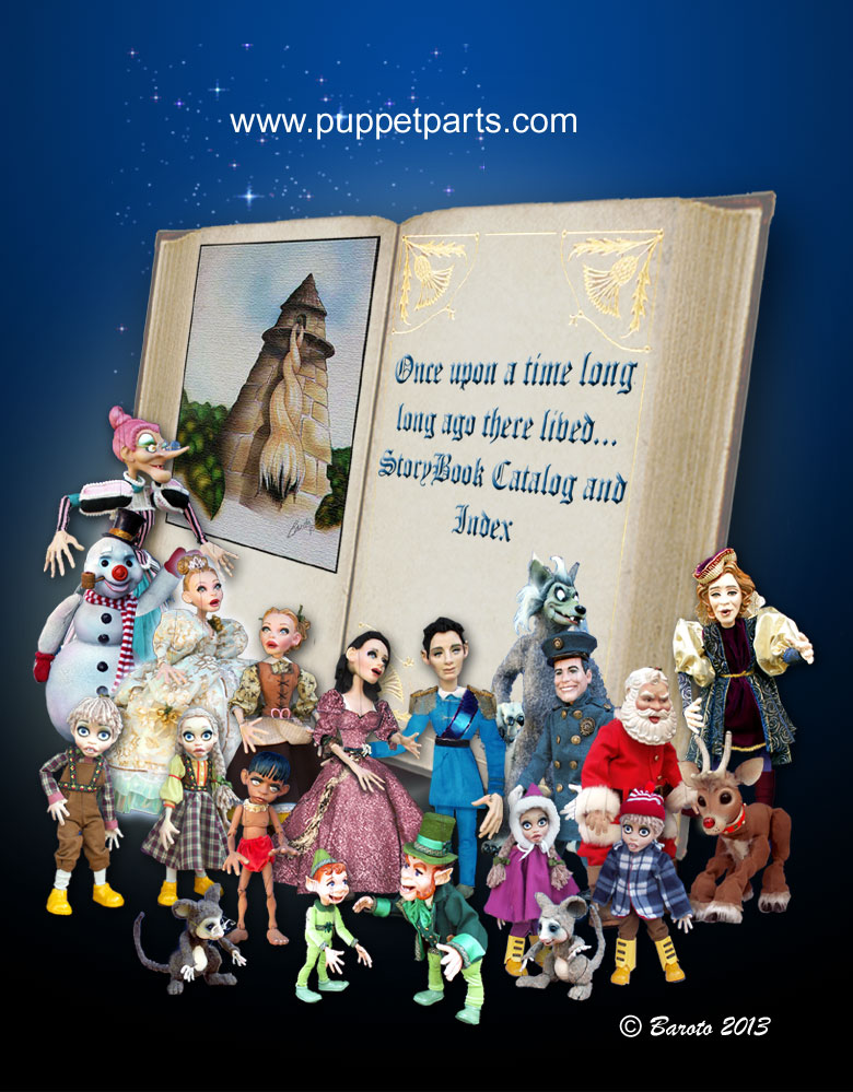 PuppetParts Storybook Marionette Collection - Baroto 2013